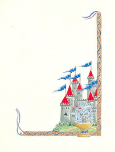 Twinkl resources castles and. Borders clipart castle