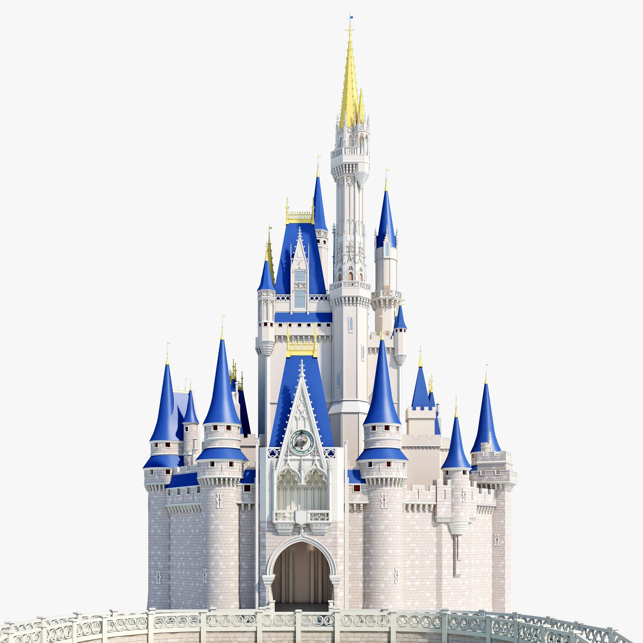 Castle clipart cinderella castle. Disney clipartpost