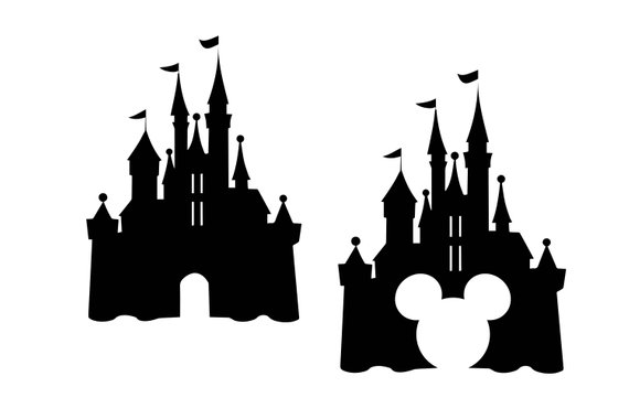 Castle clipart cinderella castle. Disney svg dxf