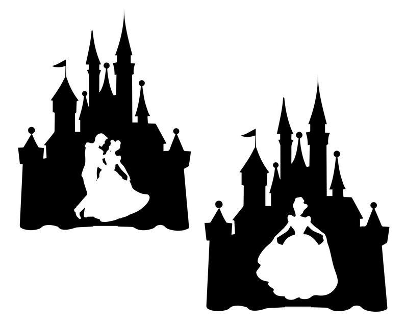 Disney svg princess ciderella. Castle clipart cinderella castle