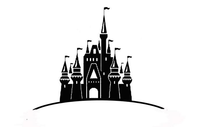 Free disney cliparts download. Disneyland clipart cinderella castle