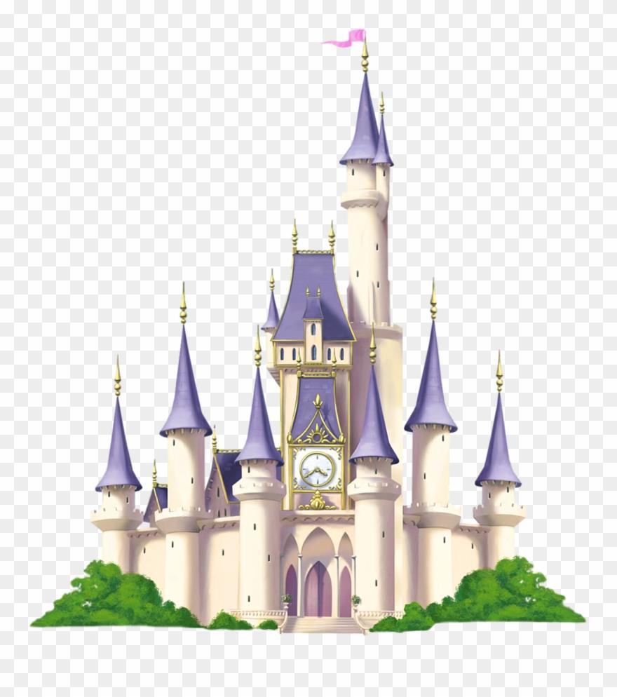 Palace clipart background. Cinderella castle disney