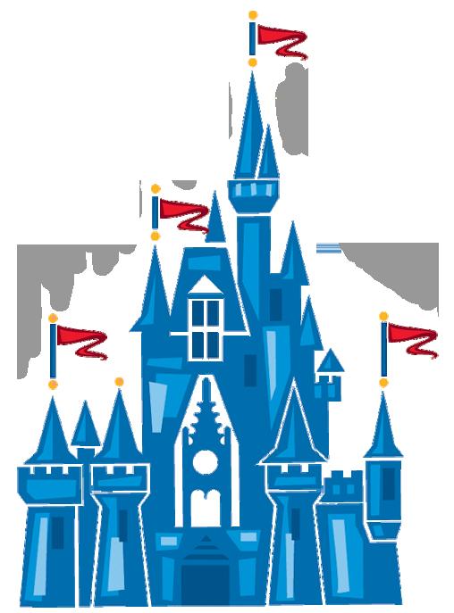 Image of disney castle. Disneyland clipart symbol