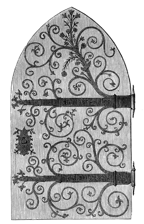 Castle Clipart Door