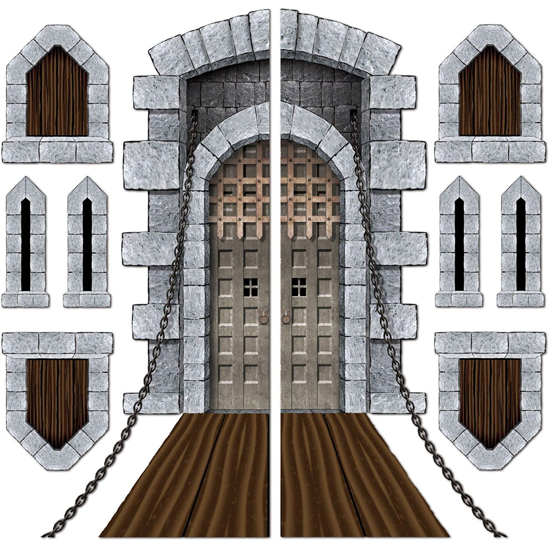 Bedroom clipart castle. Window clip art door