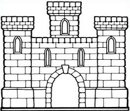 Clipart castle drawing. Free cliparts download clip