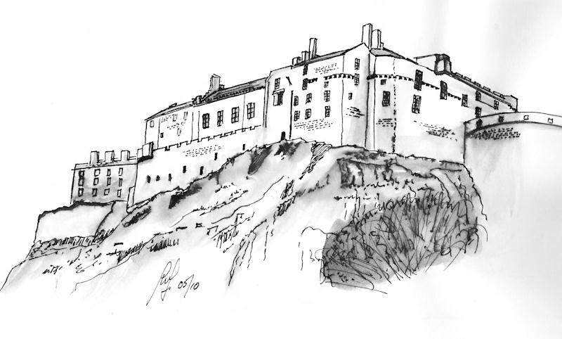 collection of drawing. Castle clipart edinburgh castle