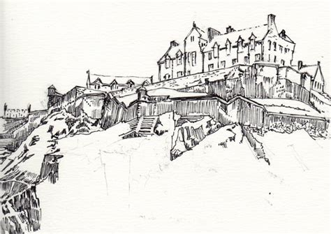 Castle clipart edinburgh castle. Scotland coloring pages democraciaejustica