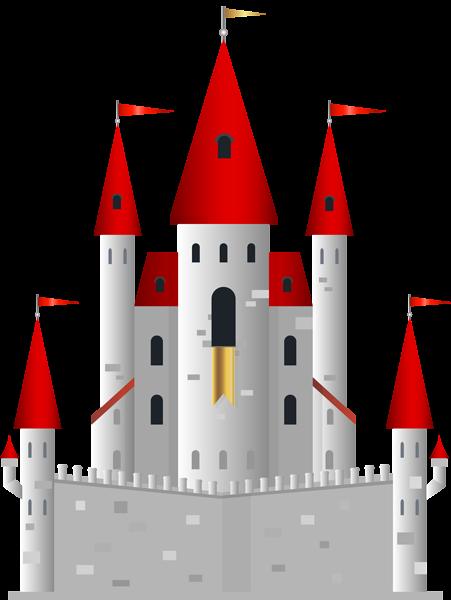 Castle clipart fairytale castle. Png clip art image