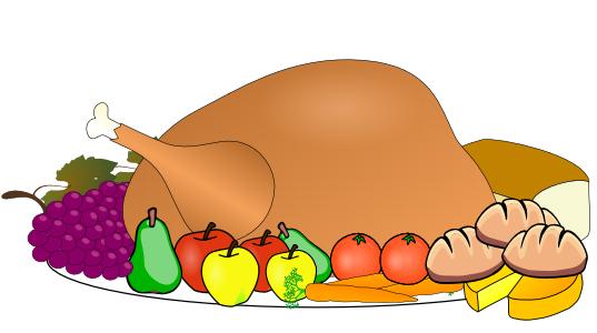 Dinner clipart turkey. Feast