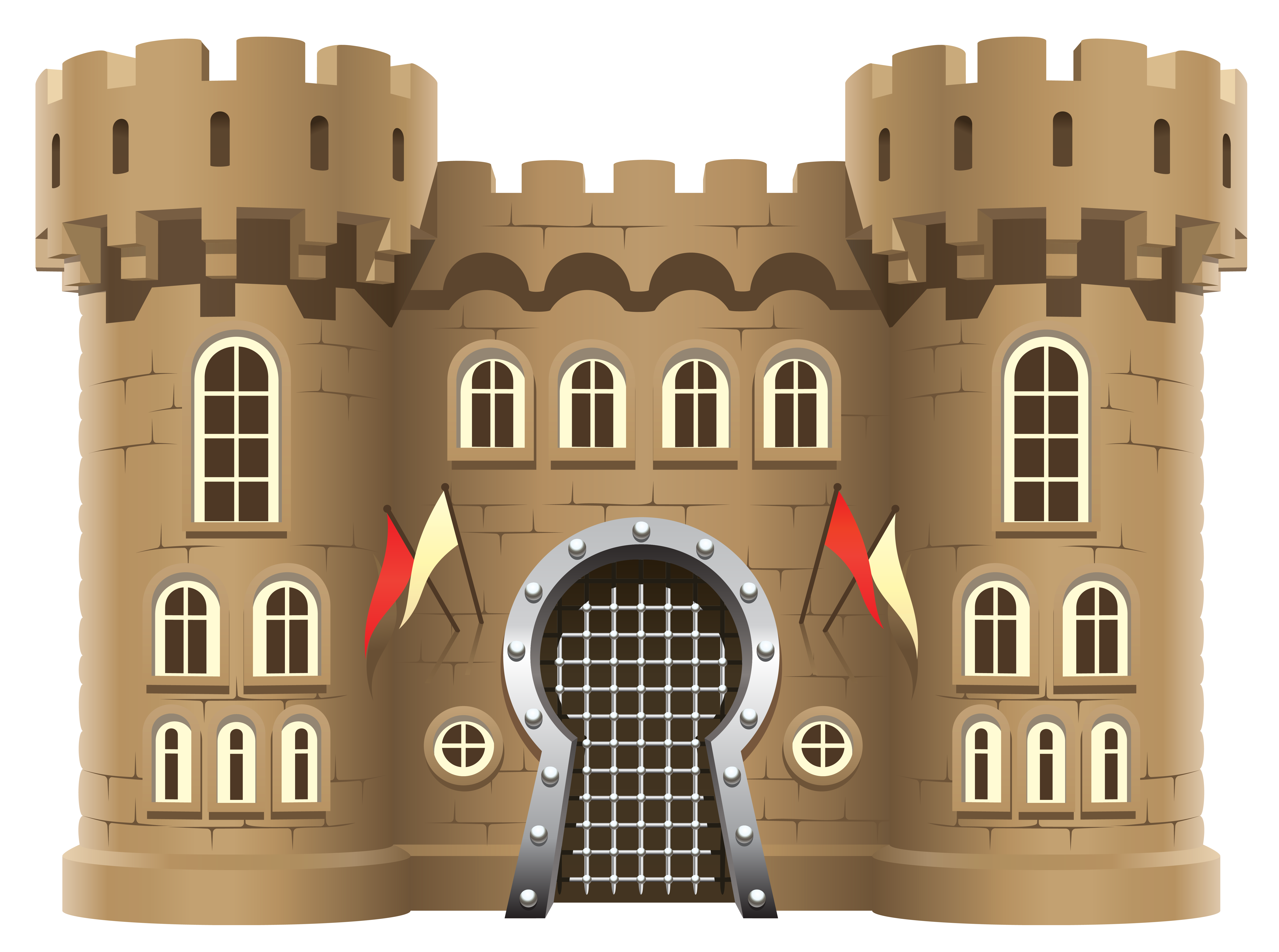 Fortress png image gallery. Palace clipart flag castle
