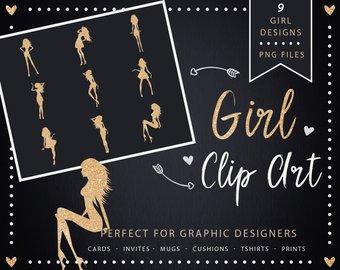 Clip art girl female. Castle clipart gold glitter