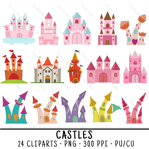 Clip art . Castle clipart gold glitter
