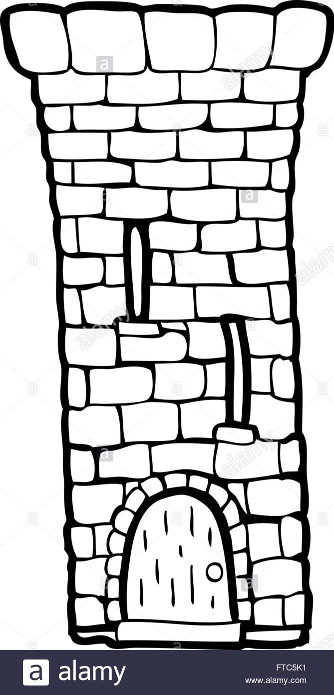 Tower . Castle clipart logo