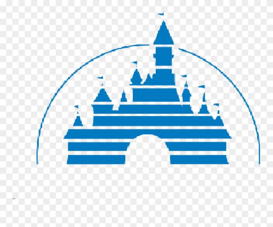 Clipart castle logo. Blue disney silhouette