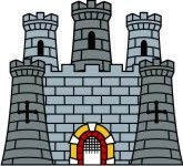 Free clip art castles. Tower clipart medieval tower