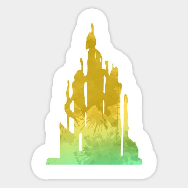 Inspired silhouette . Clipart castle little mermaid