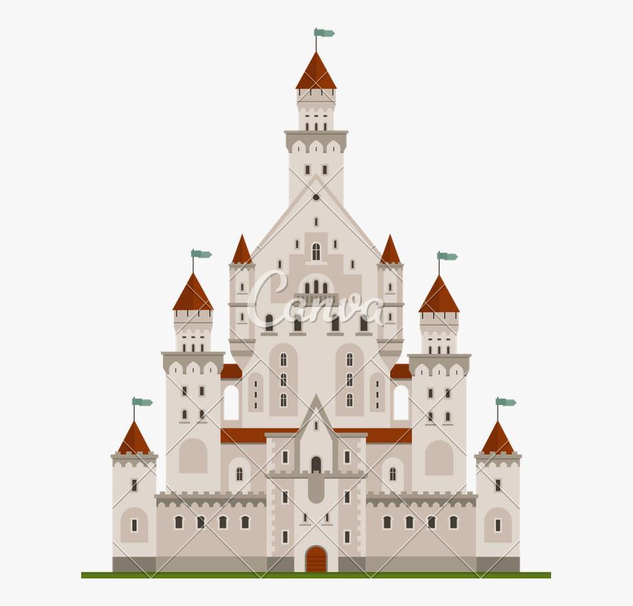 Clipart castle royal castle. Palace fairy tale clip