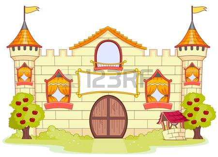 Castle clipart palace. Yellow free collection download