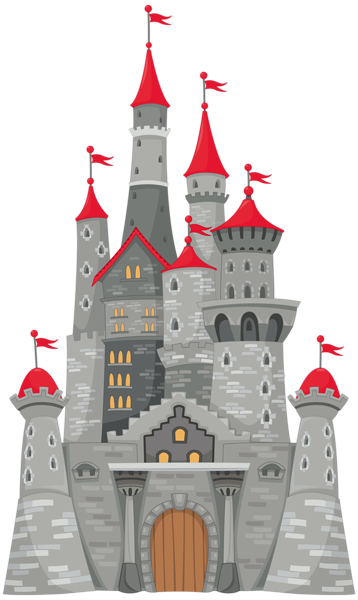 Grey png image pinterest. Clipart castle