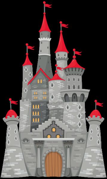 Grey Castle PNG Clipart Image | png | Pinterest | Clipart images ...