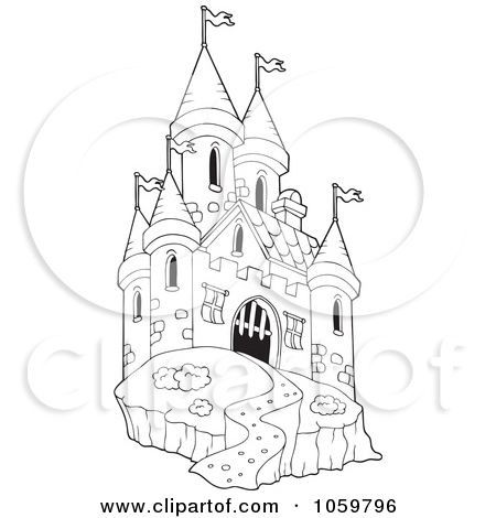 Castle clipart royal castle.  best castles images