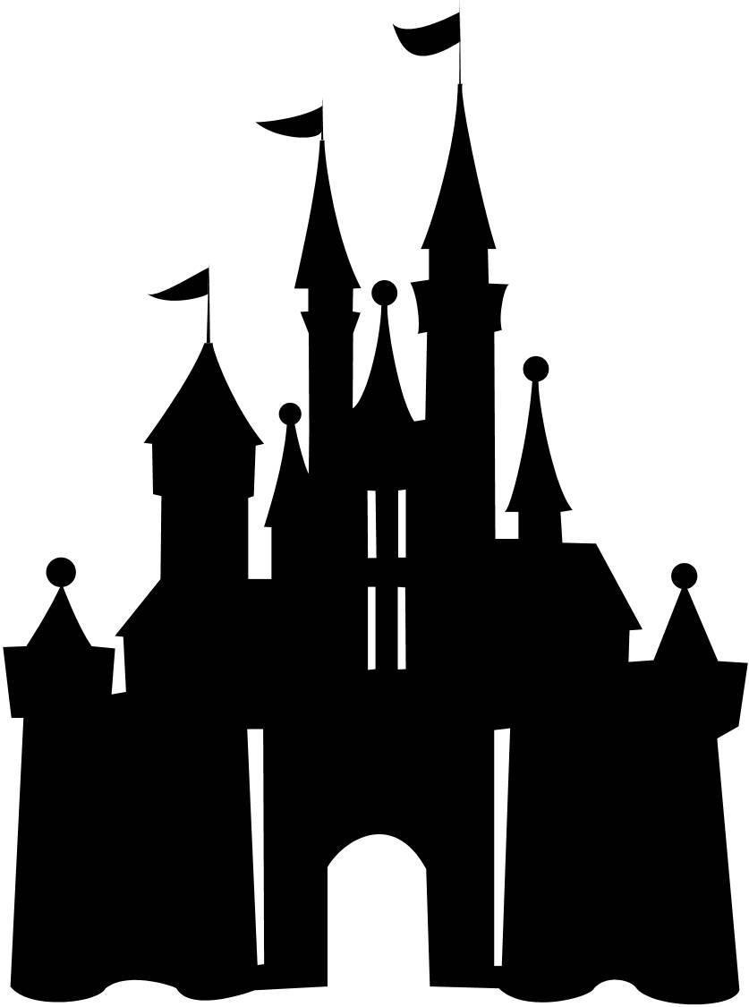 Disney princess castle free. Disneyland clipart simple