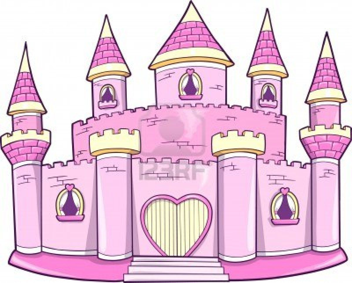 Palace clipart cute. Stock vector partyparty castle
