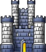 Castle clipart scottish castle. Advanced medieval tower clip