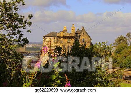 Drawing scotland gg gograph. Castle clipart scottish castle