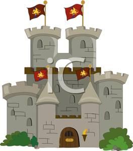 Clipart castle stone castle. Clip art image a