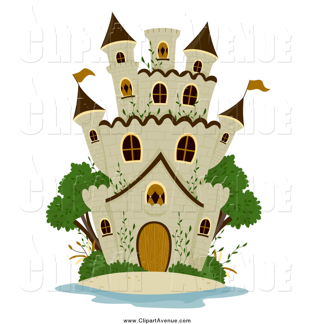 Castle clipart stone castle. Avenue of a and