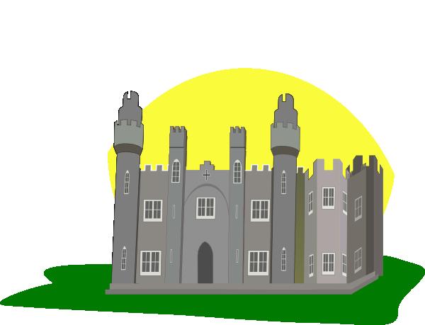 Clip art at clker. Castle clipart stone castle