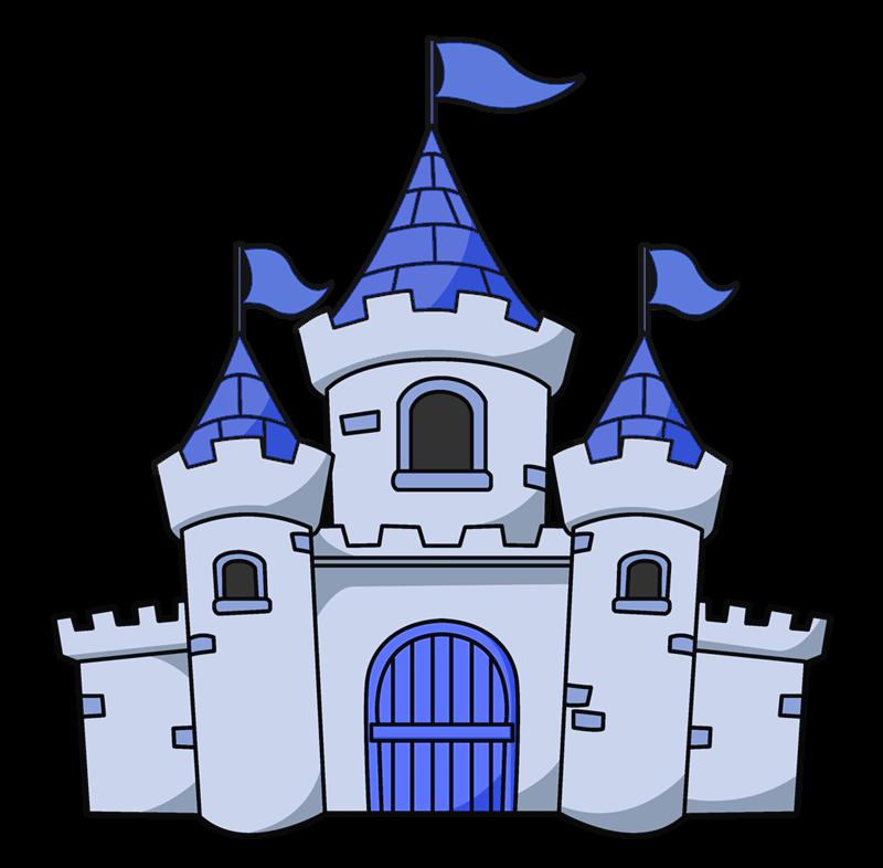 Security phoenix business technologies. Clipart castle blue