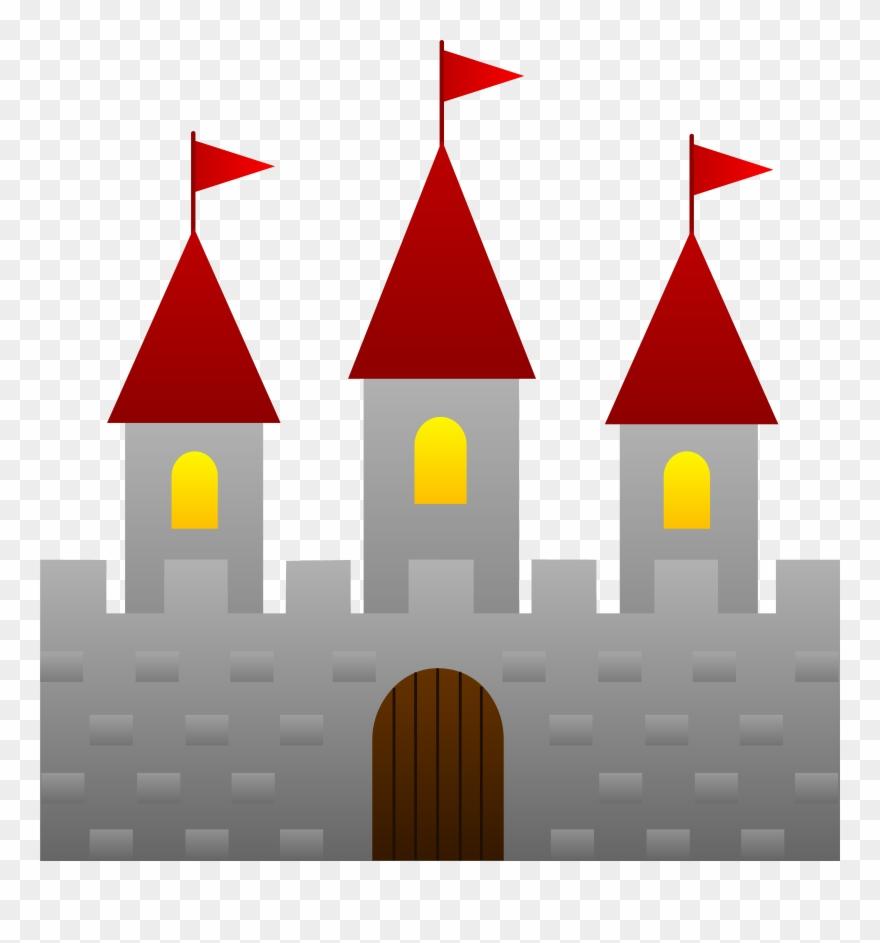 Fairy tale clip art. Fairytale clipart red castle