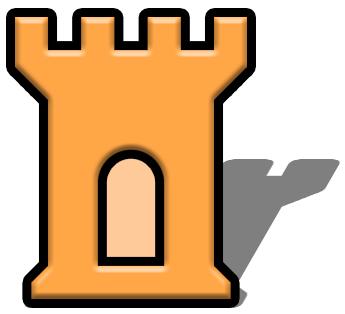 Clipart castle symbol. Buildings png html available