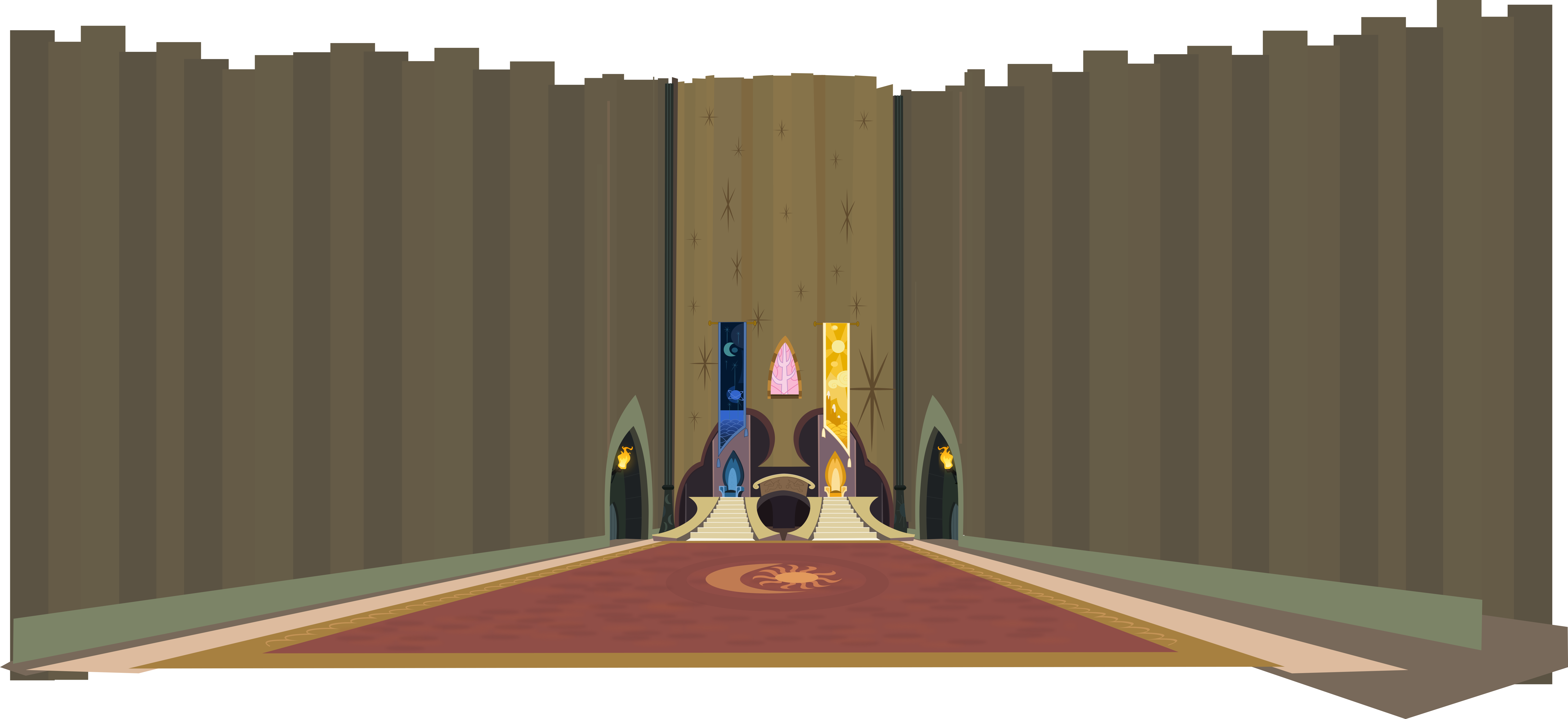 Clipart castle throne room. Vector png download