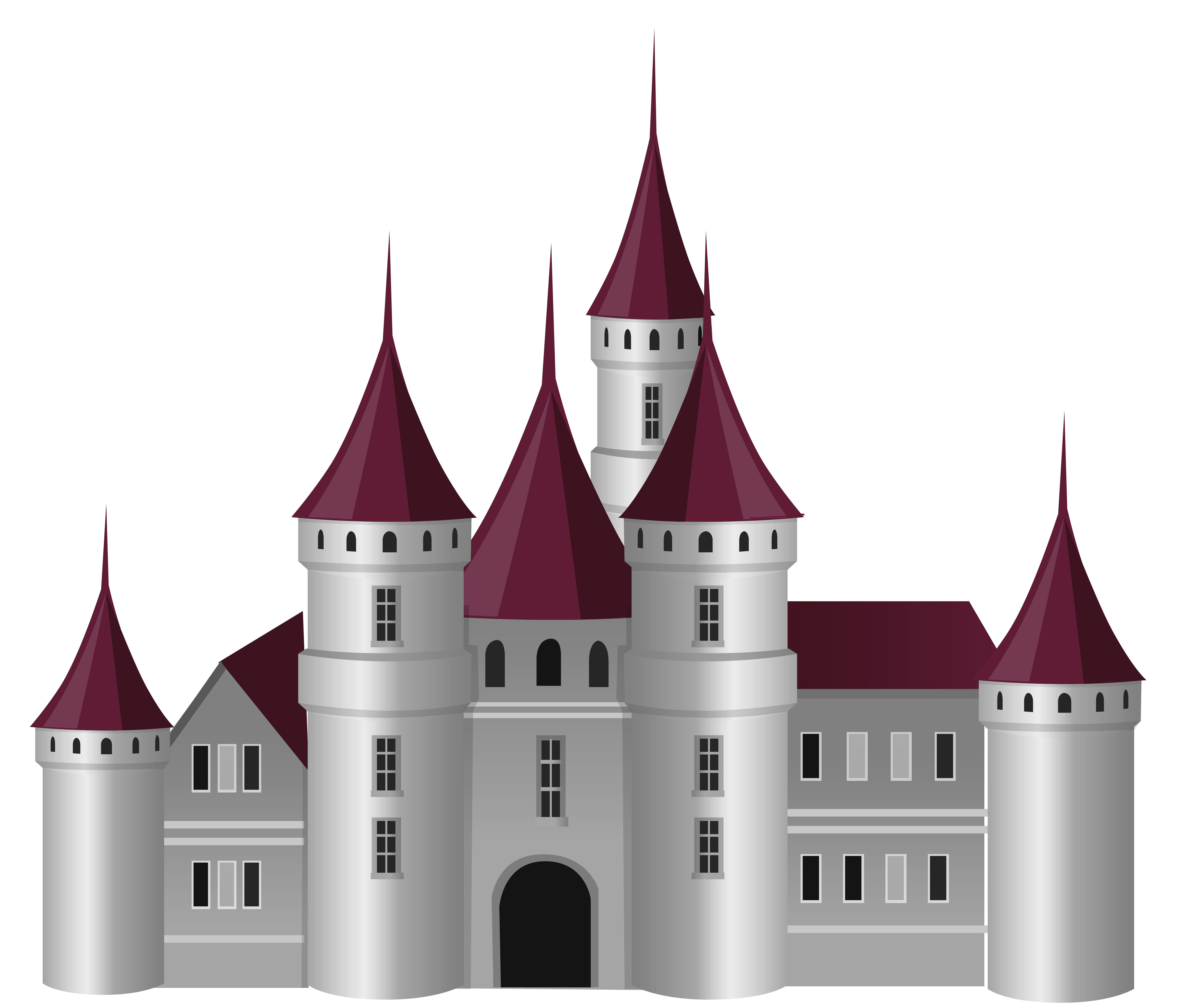 Png picture gallery yopriceville. Clipart castle transparent background