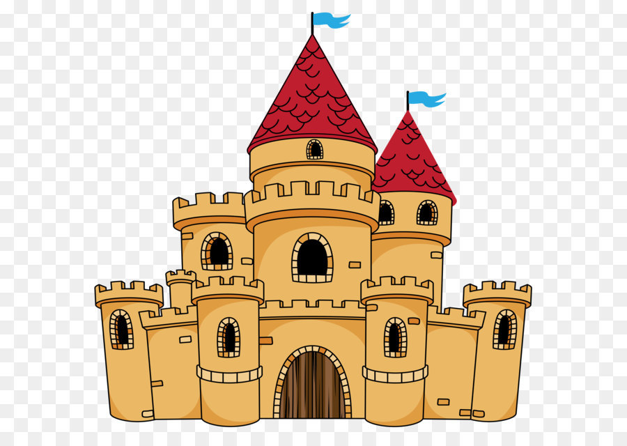 Castle clip art Free vector in Open office drawing svg ...