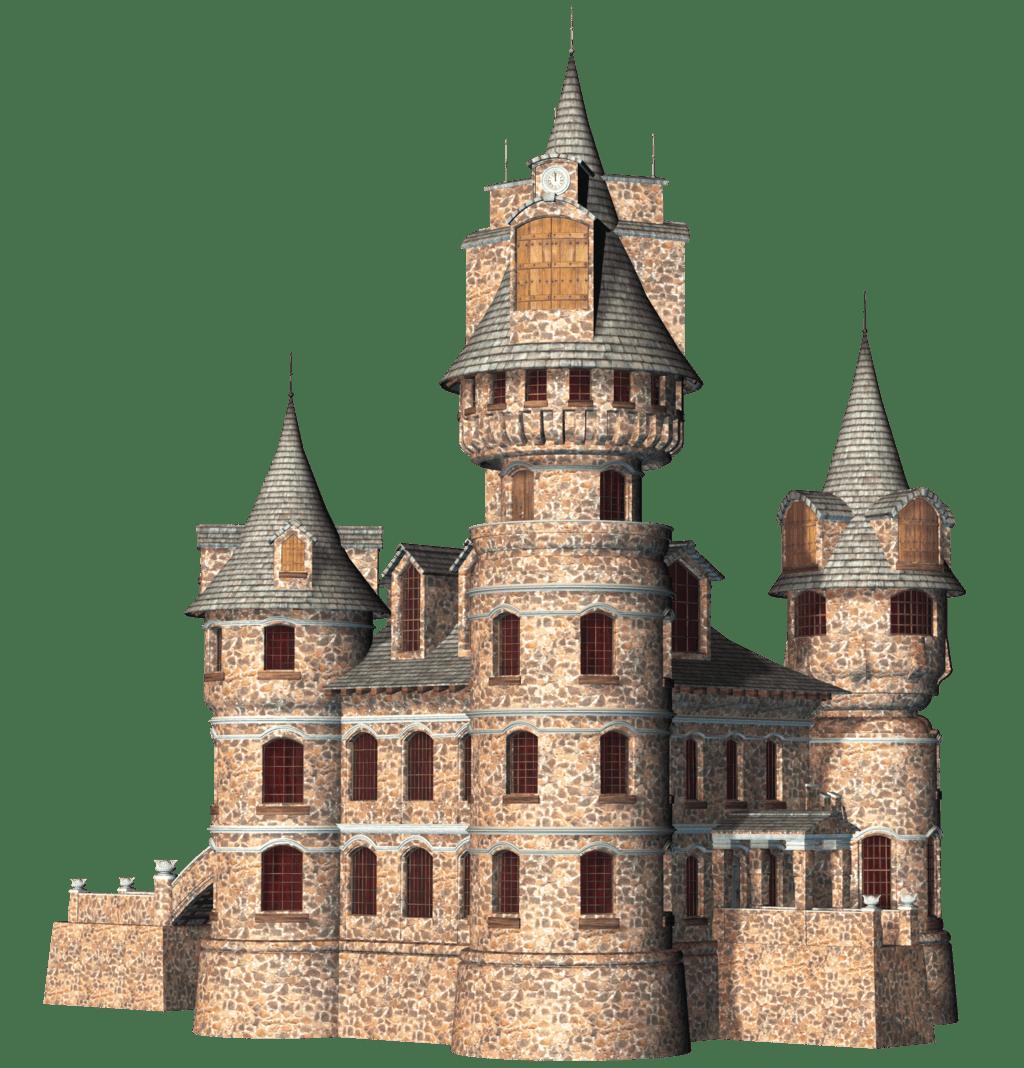 D png stickpng. Clipart castle transparent background
