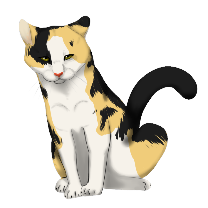 Kittens clipart calico. Cat chibi free on