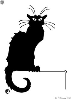 Cat clipart classy. Black crazy pinterest and