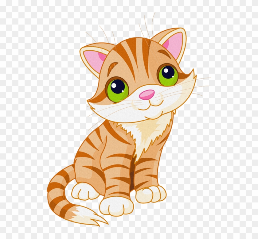 Cat clipart clear background. Cute cartoon transparent funnypictures