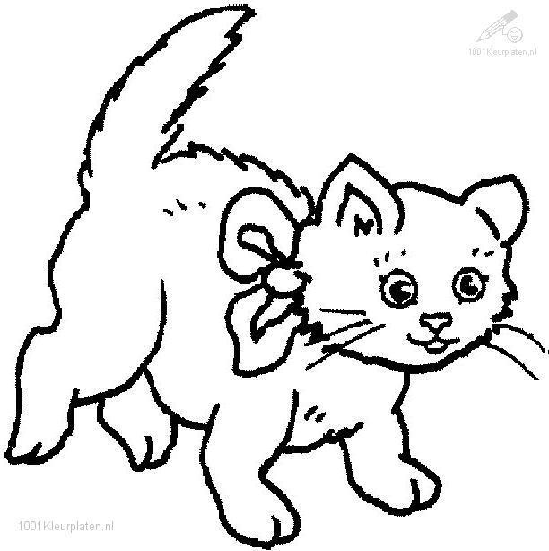 Cat clipart colour. In jokingart com coloring