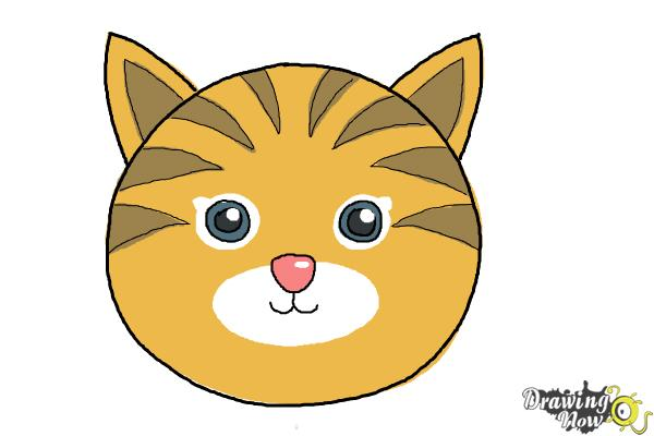Cat clipart easy. Drawing at getdrawings com