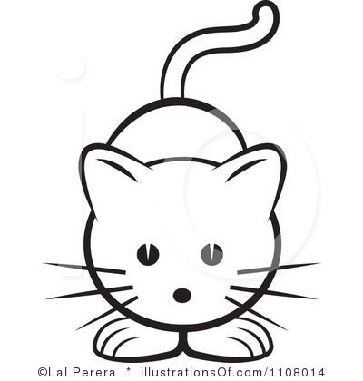 Clipart cat easy. Graphics illustrations free download