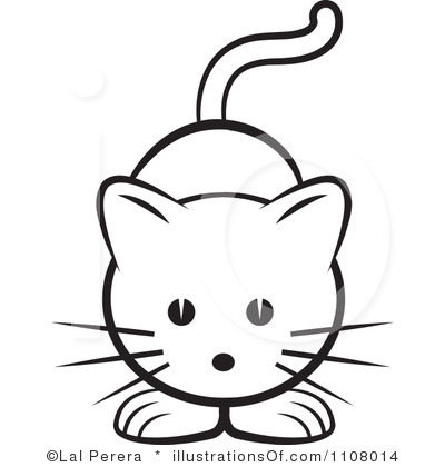 Drawing at getdrawings com. Cat clipart easy