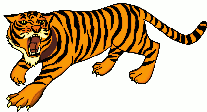 Free picture of. Hunting clipart tiger clipart