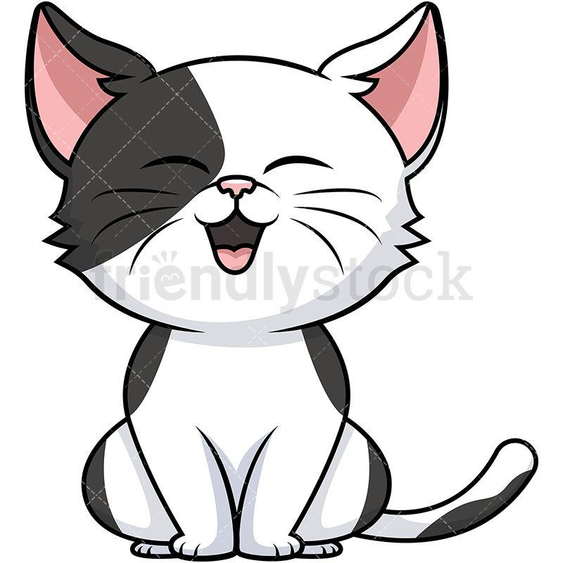 Cute cat aa clip. Kitty clipart cartoon