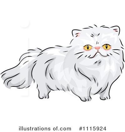 Cat clipart illustration. By bnp design studio